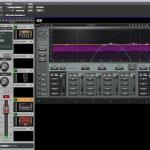 DLSで動作するプラグインがロードされたStudio Rack